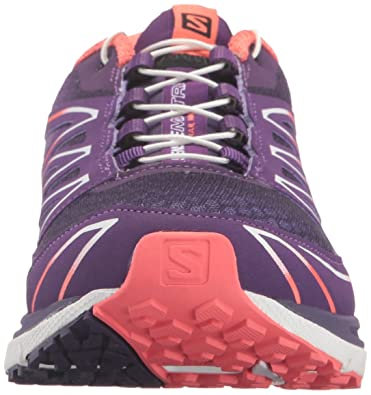 Salomon Damen L39013300 Traillaufschuhe, PurpleGranny Green