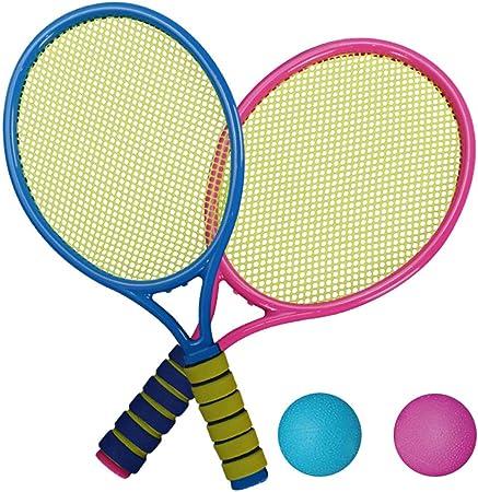 Volking Juego de Tenis, 2 Raquetas, 2 Pelotas Blandas, Juego de ...