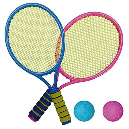 Weedon Juego de Tenis para niños y Adolescentes, 2 Raquetas de ...