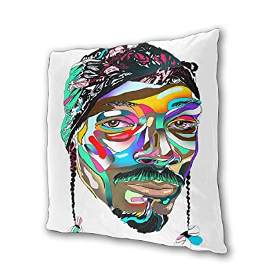 """SnoopDogg Outdoor/Indoor Cushions 18.5""""x 18.5"""", 2 Pieces: Kitchen & Dining"""