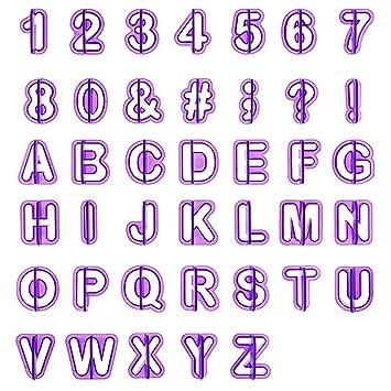 Moldes para letras