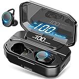 [Xmythorig Ultimate] True Wireless Earbuds Bluetooth 5.0 Headphones, IPX7 Waterproof Earphones for Sports, 110H Playtime w/ 3