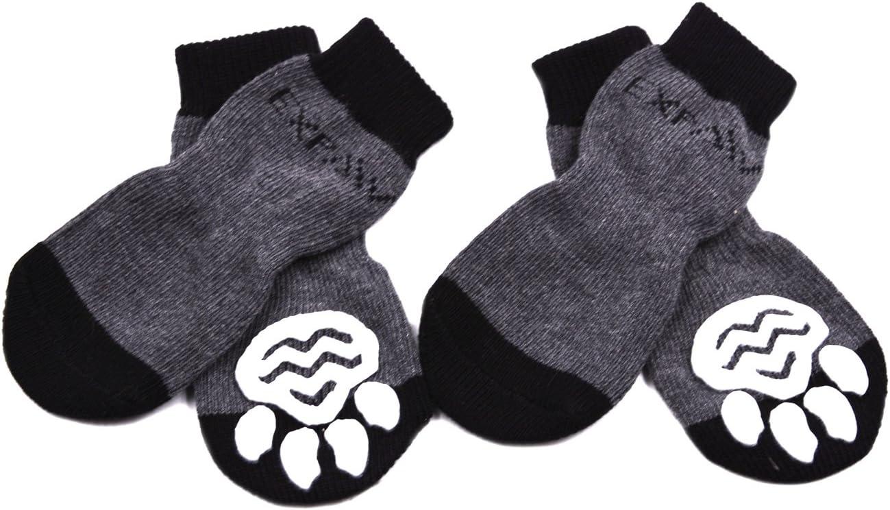 EXPAWLORER Paw Protection Dog Socks