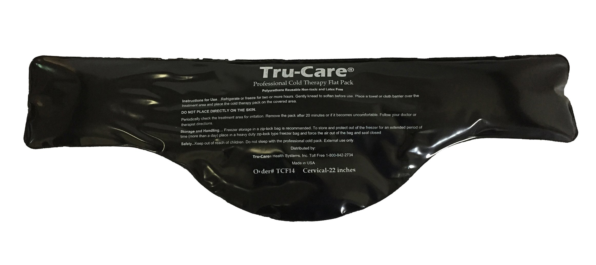 Tru-Care Ice Pack for Injuries & Pain Relief for Neck Shoulder or Back are Latex Free