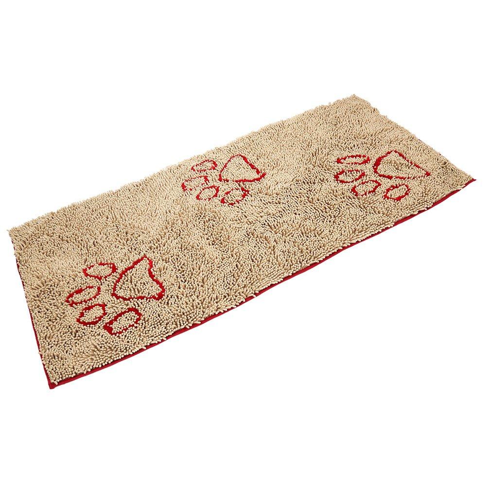 PUPTECK Super Absorbent Dirty Dog Doormat - Non Skid Microfiber Pet Door Runner Mat, 60inch x 30inch