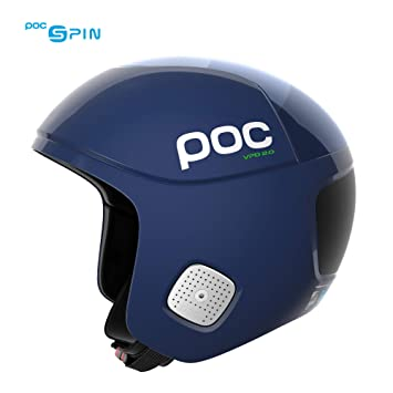 POC Skull Orbic Comp Spin Ad Casco, Unisex Adulto, Azul (Lead Blue), M-L/55-58: Amazon.es: Deportes y aire libre