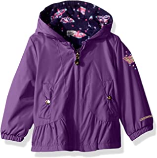 33c87c1ae Amazon.com  Jessica Simpson Girls  Warm Winter Coat with Asymetrical ...