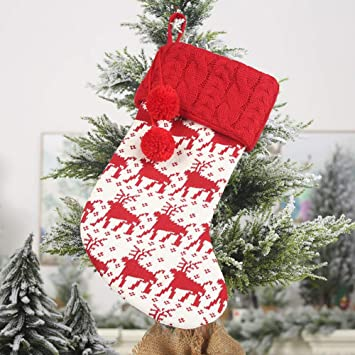 Amazon.com : Lovelychica Christmas Stockings for Family ...