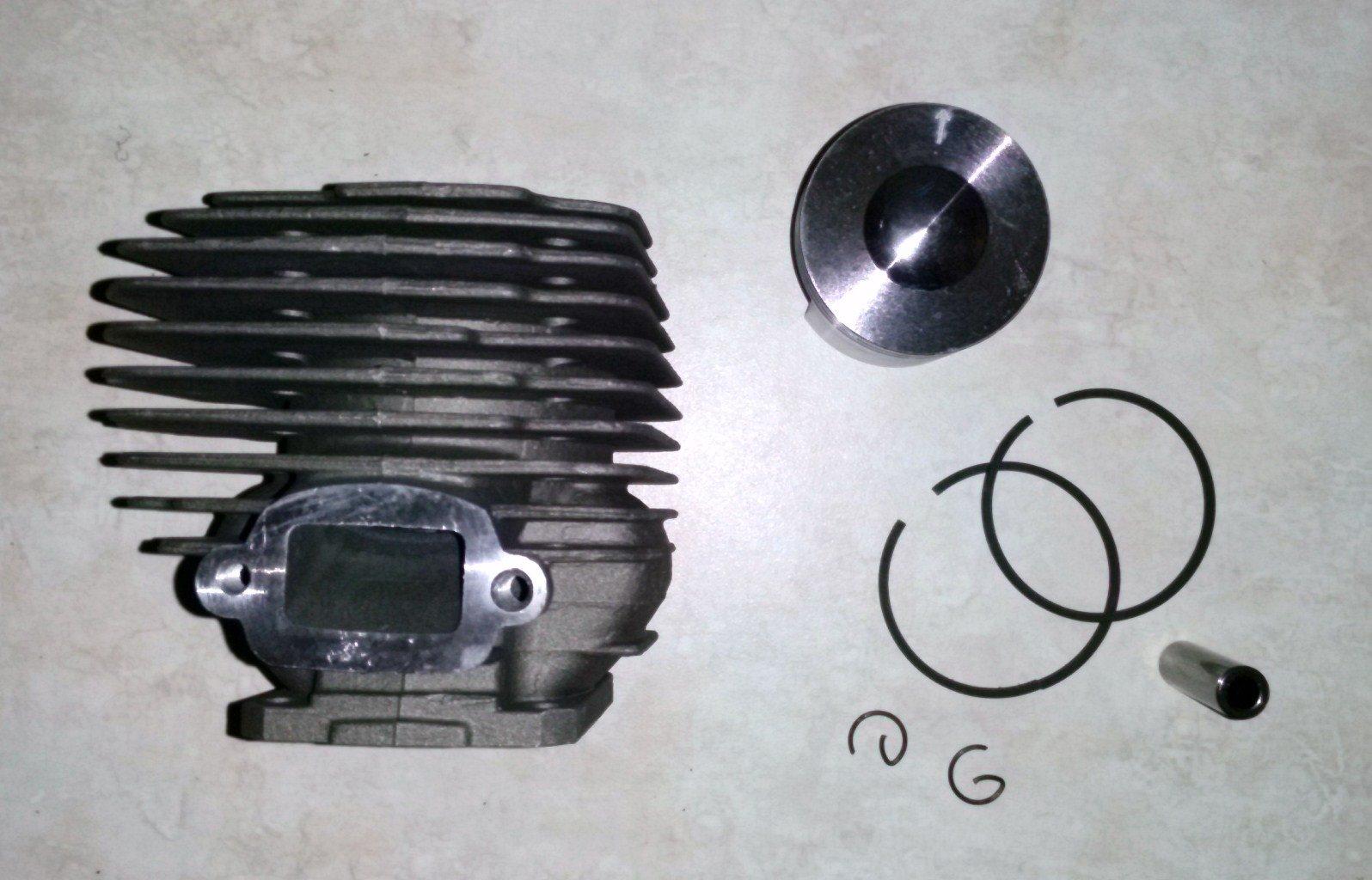 Cylinder 46mm Piston Kit for STIHL 028 028AV 028 Super Q W WB Replaces OEM# 1118 020 1203 / 11180201203