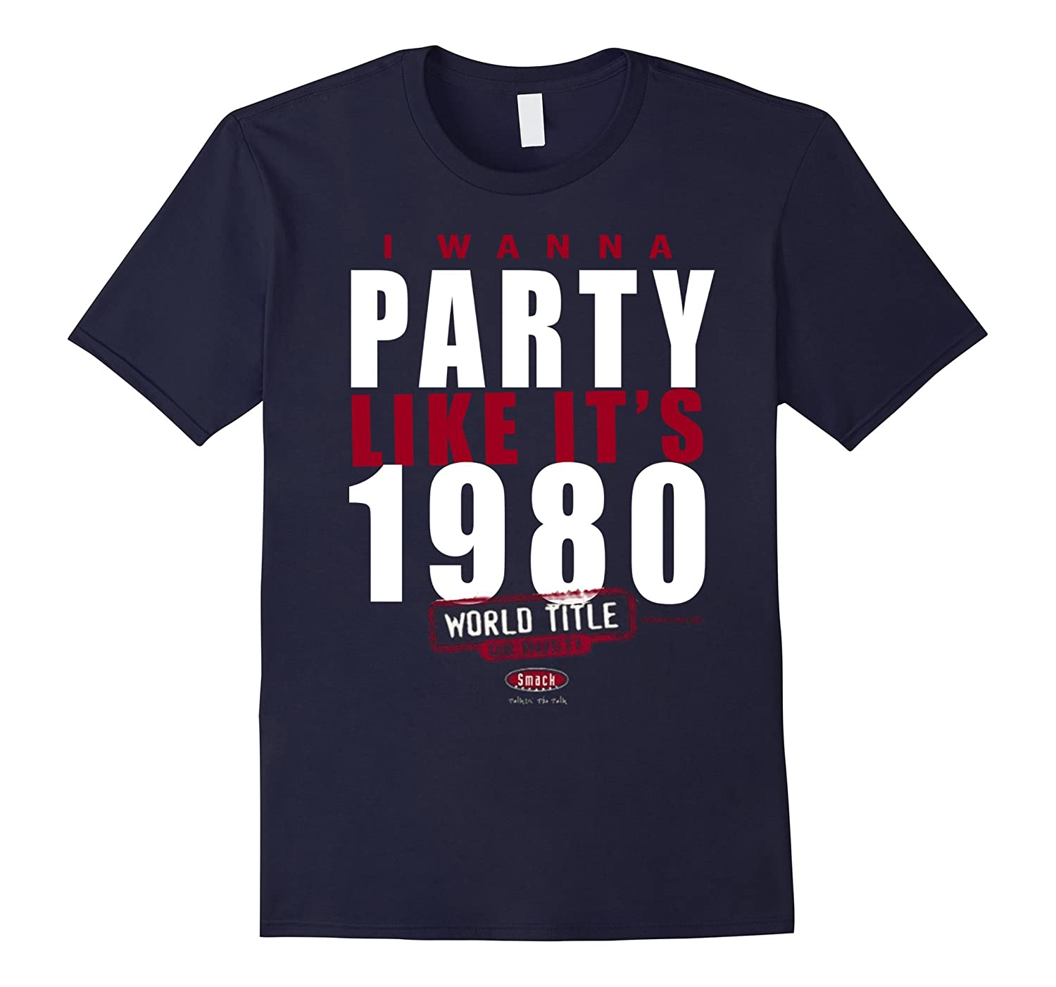 I Wanna Party Like It's 1908 Royal Blue T-Shirt-CL