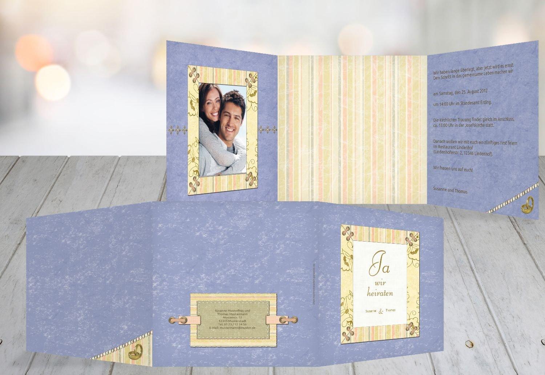 Kartenparadies Hochzeitskarte Hochzeit Einladung Bund für's Leben, hochwertige Einladung zur Heirat inklusive Umschläge   10 Karten - (Format  145x145 mm) Farbe  PastellHellTürkis B01MUCV2KE   Sofortige Lieferung    Deutsche Outlets    Sp