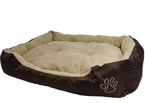 Unbekannt XXL Cama para Perros 90 x 70 cm para Perros Perros ...