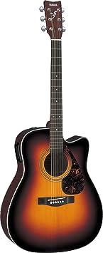 Yamaha GFX370CTBS Full Size Electro-Acoustic Guitar - Amazon Argentina