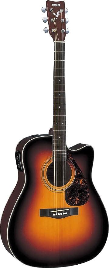 Yamaha FX370C - Guitarra electroac?stica con secci?n, tobacco sunburst