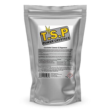 TSP Fosfato trisódico 1Kg (limpiador, desengrasante y removedor de manchas)
