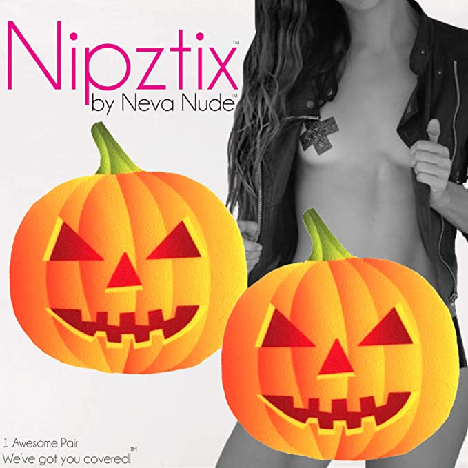 Neva Nude Sequin Large Bat Nipztix Pasties Nipple Cover