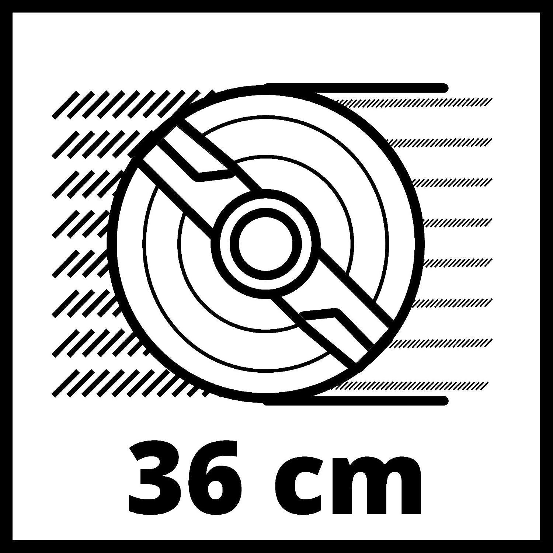 ref.3400160 Cortac/ésped el/éctrico 1700 Vatios, altura de corte 6 niveles | 20-65 mm , ancho de corte 42 cm, hasta 700m/² de jard/ín, 50L de capacidad de bolsa Einhell GC-EM 1742