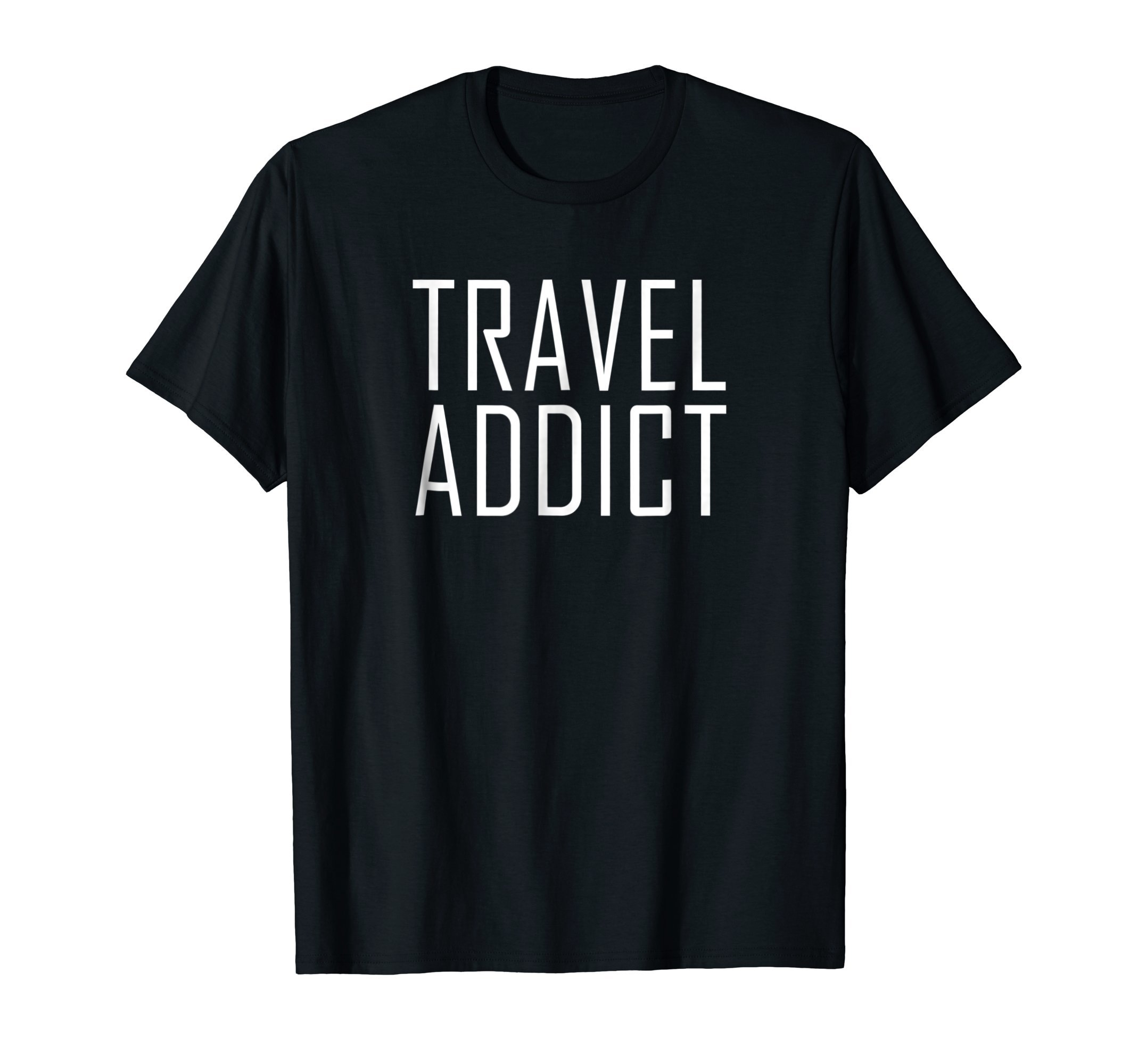 Travel Addict Vacation shirt for travelers