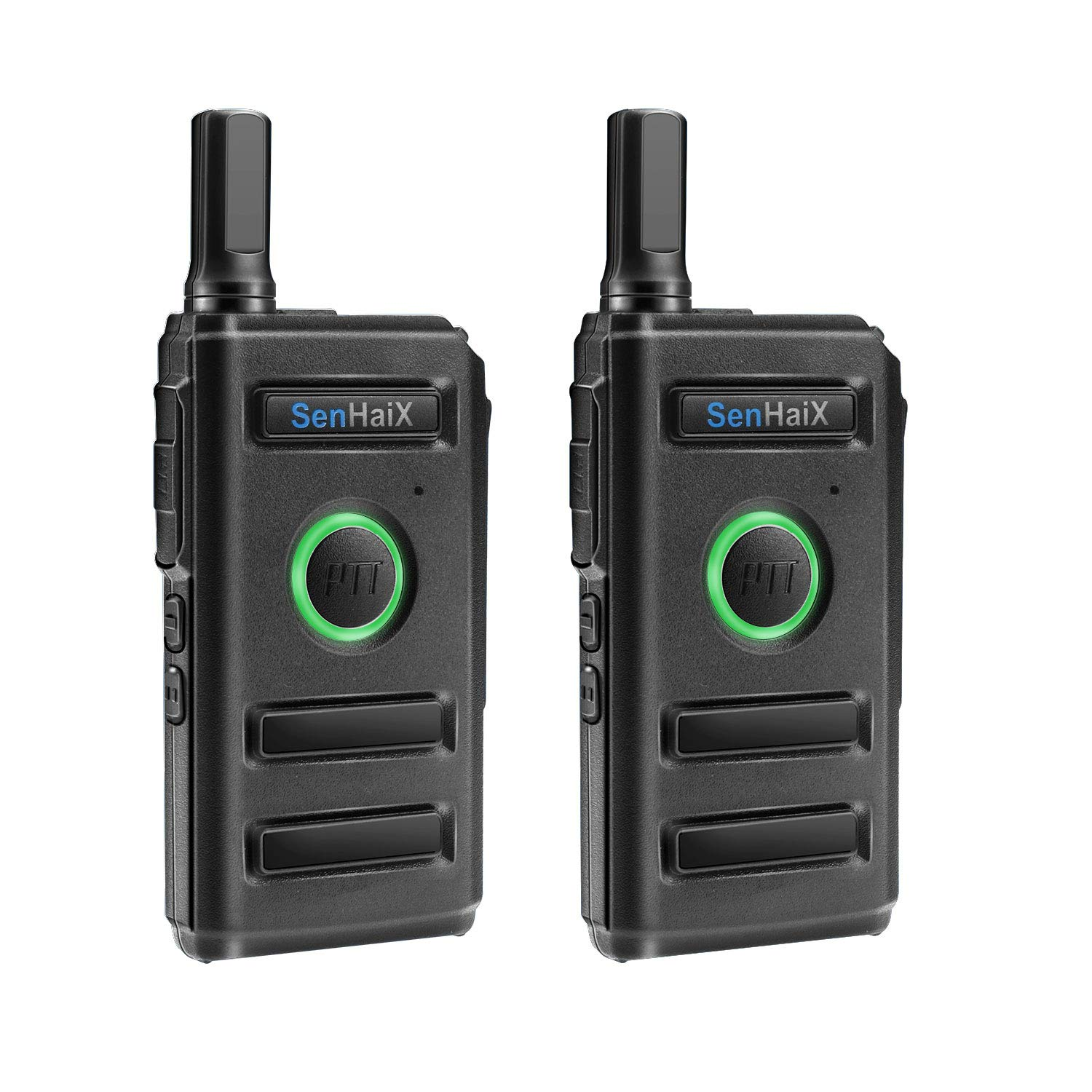 Winkeyes Walkie Talkies, Ultra Thin Business Long Range 2 Way Radio Walkie Talkie for Adults, Great Transmisstion and Receive up to 5Km, 16-Channel, Rechargeable Walky Talky (2 Pack)