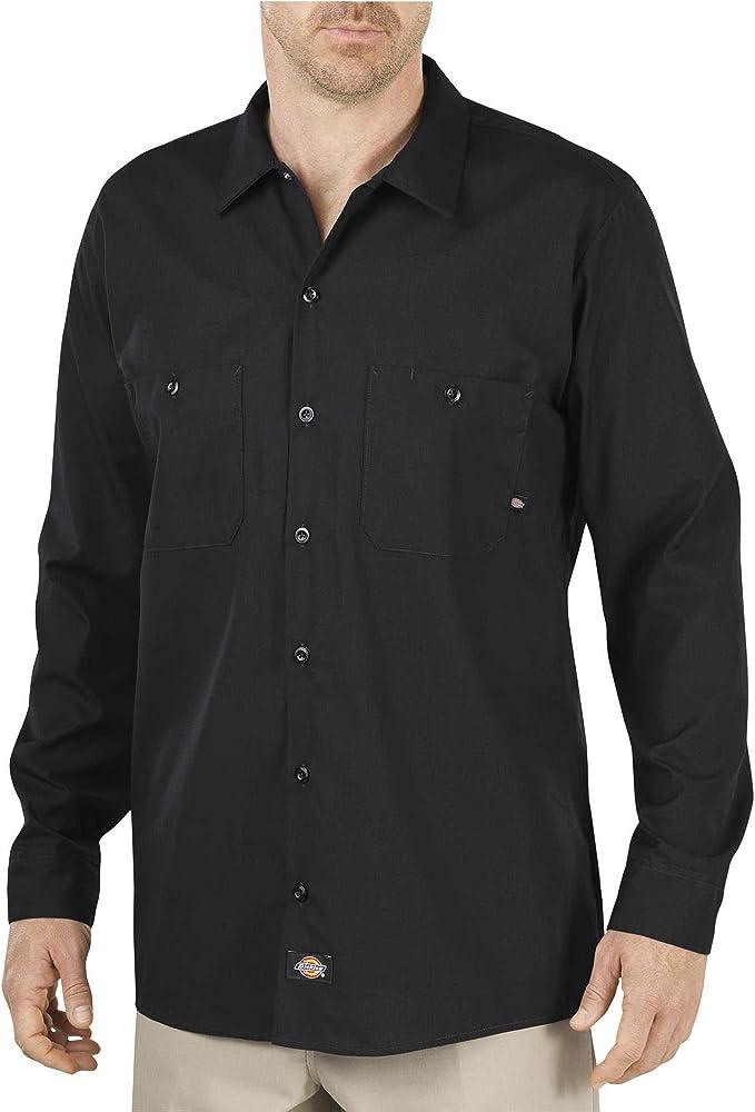 Dickies - Camisa de trabajo industrial de manga larga para ...