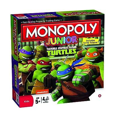 Winning Moves Tortugas Ninja - Juego de Habilidad, de 2 a 4 ...