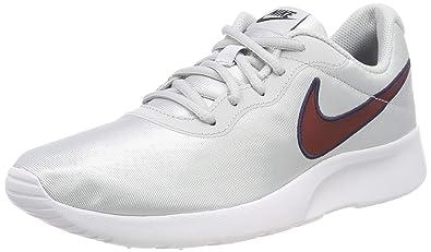 e7dc75babc Nike Damen WMNS Tanjun Se Laufschuhe, Mehrfarbig (Pure Platinum/Red Crush  010)