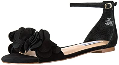725502b0f96 Steve Madden Dorthy Flat Ankle Strap Sandals