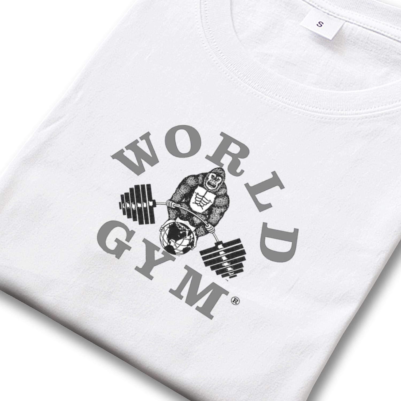 World Gym Golds Gym Mens Short Sleeve T Shirt Designer Champion Shirts