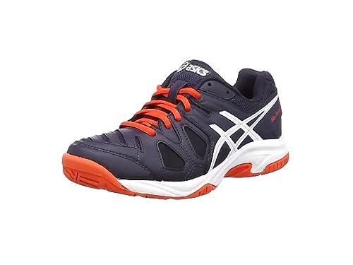 best cheap 0c623 cae0a ASICS Gel Game 5 GS, Chaussures de Tennis Mixte Enfant, Blanc (Sky Captain