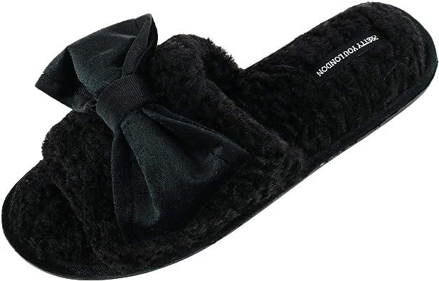 Matilda Slide Slipper with Bow | Slippers