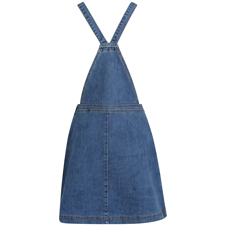 b22ba4d0aaf TTC Womens Ladies Denim Dungaree Skirt Stretch Dungaree Pinafore-Holly   Amazon.co.uk  Clothing