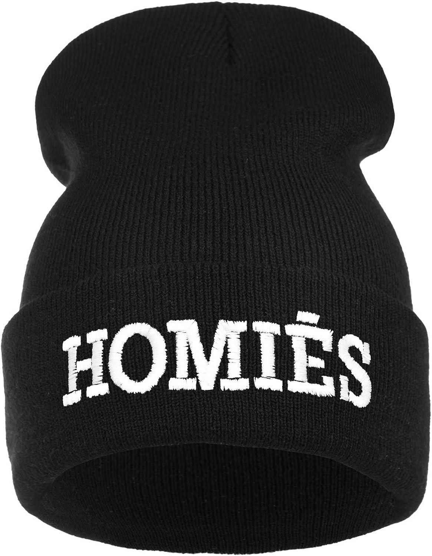 YOLO Parental Advisory Homies Normal is Boring Hakuna Matata para el d/ía de la coca/ína y el caviar Gorro de invierno para hombre y mujer calentito color negro para j/óvenes