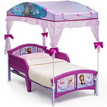 Disney Frozen Canopy Toddler Bed  sc 1 st  Amazon.com & Amazon.com : Disney Frozen Canopy Toddler Bed : Baby