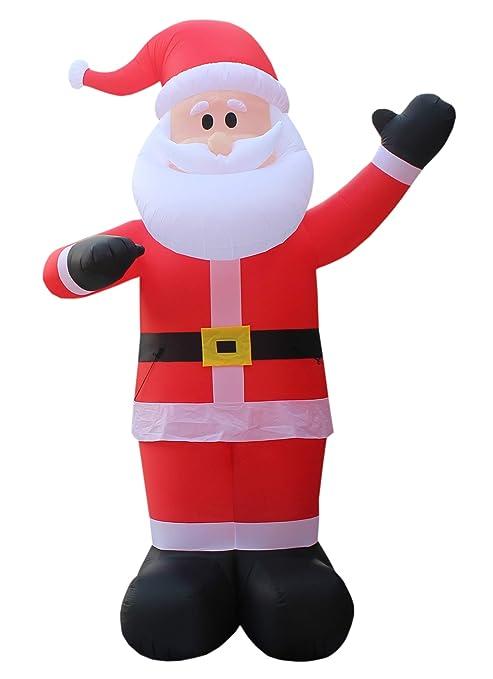 Christmas Inflatable.Bzb Goods 14 Foot Tall Huge Christmas Inflatable Santa Claus Outdoor Indoor Decoration