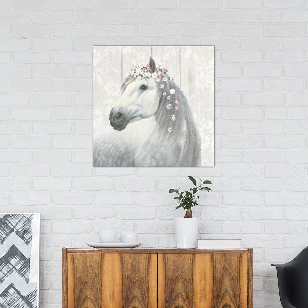iCanvasART Spirit Stallion II Canvas Print by James Wiens 37 x 37