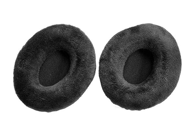 Ear Pad Earpads Leather Cushion Repair Parts for Sennheiser Momentum On-Ear Headphones(earmuffes/Cushion) Headset 75x65mm (Momentum On-Ear Black)