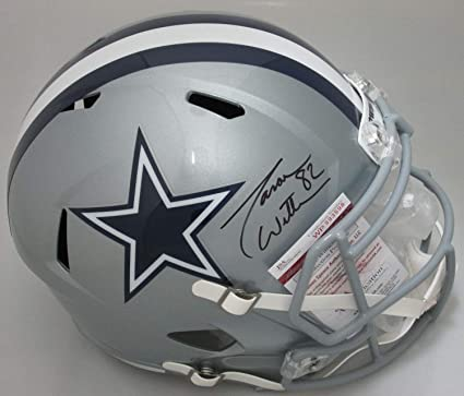 d93b9ae80 Amazon.com: Dallas Cowboys Jason Witten Autographed Signed Full Size  Replica Speed Helmet Auto - Memorabilia JSA: Sports Collectibles
