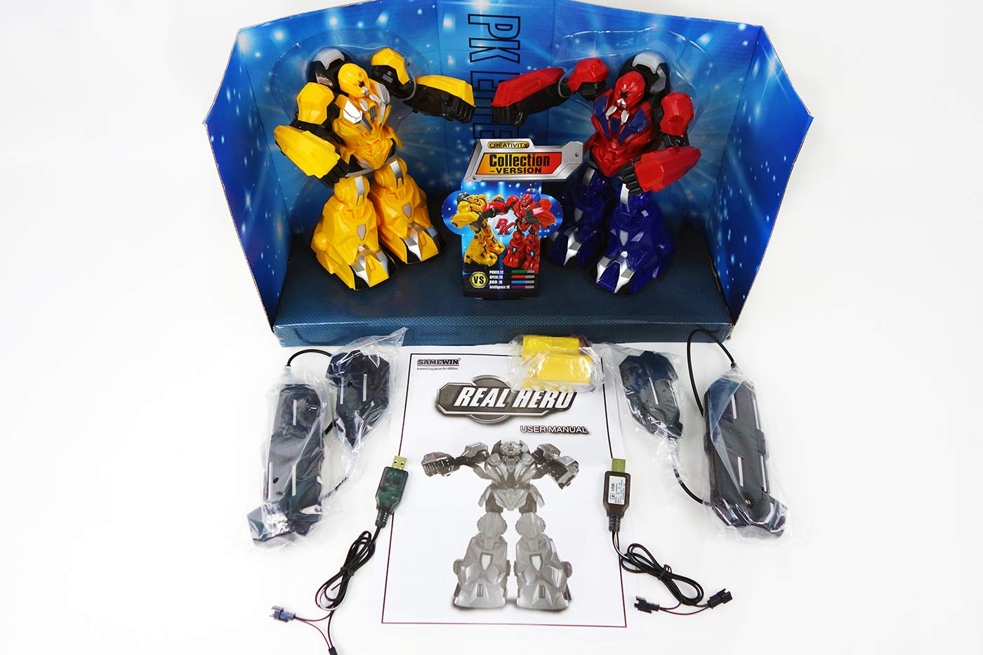 NBD Corp Real Hero- Infrared Fighting Robots A Fun Toy For Boys And Girls This Is A Very Exciting Toy For Kids This Really Rad Robot Is A Super Fun Boxing Robot And The Hero You've Been Looking For by NBD Corp (Image #6)