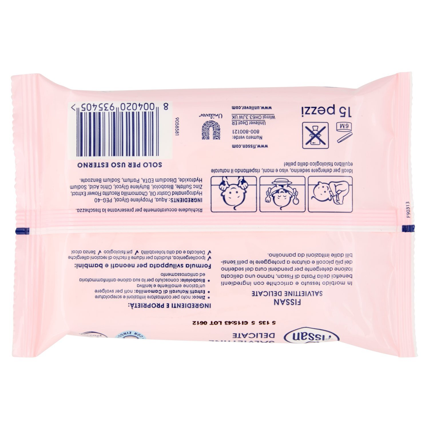 Pack of 3 Products Fissan Beauty Baby