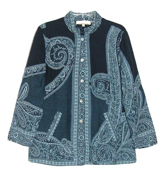 Amazon.com: La cera para mujer chamarra de lana: Clothing