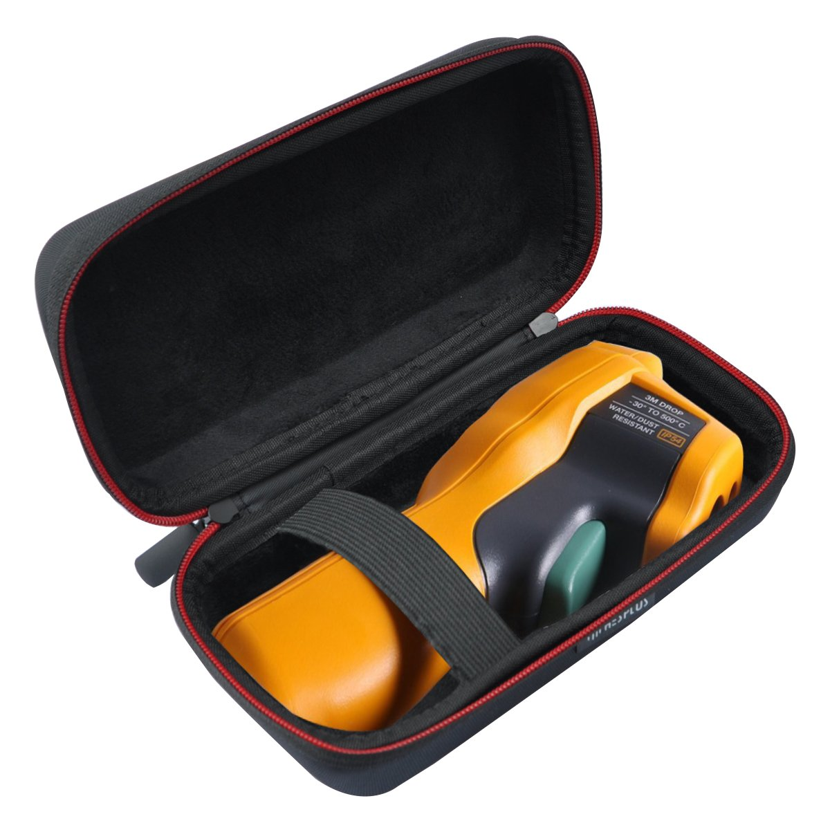 HESPLUS Hard Case for Fluke 62 Max/Fluke 62 / Fluke 64 Max/Fluke 59 Max/Fluke 59 Max+ Plus Infrared IR Thermometer - Black HPEV035