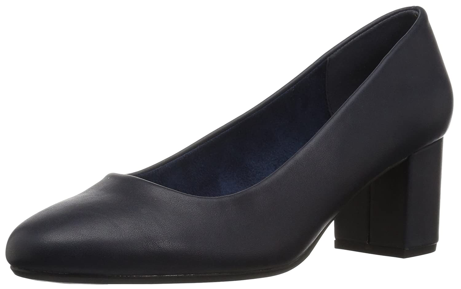 Easy Street Women's Proper Dress Pump B072Q1TMQB 6.5 B(M) US|Navy