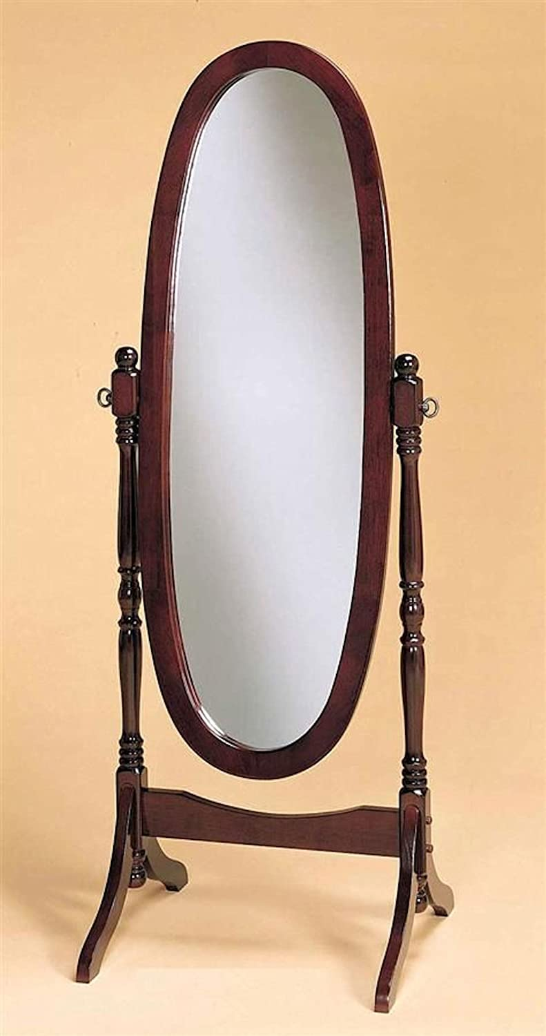 Floor mirrors large floor mirrors for cheap 23 for Wood floor length mirror