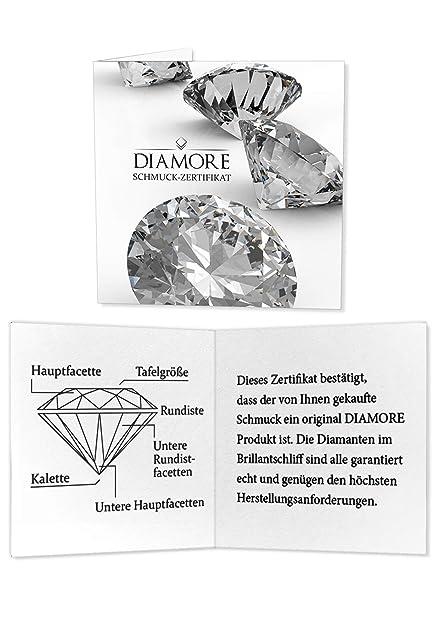 Diamore Schmuckset Infinity Solitär Diamant (0.08 ct.) 585 Gelbgold   Amazon.de  Schmuck c7490b03a8