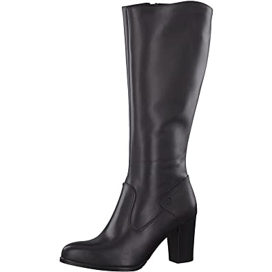release date: f657a 18059 Tamaris Damen Stiefel 25570-31,Frauen  Boots,Lederstiefel,Reißverschluss,Blockabsatz 8cm