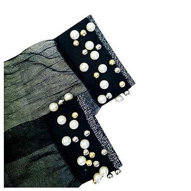 Women Net Socks Inkach Trendy Girls Breathable Pearl Stockings Thin Section Bright Silk Socks