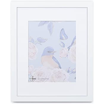 Amazon 18x24 White Picture Frame Matted For 12x18 Frames By