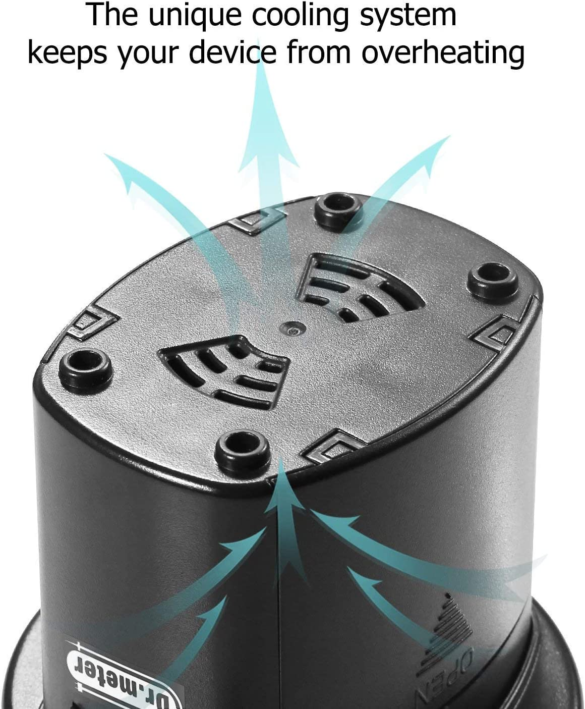 flotadores de Piscina Ideal para inflado r/ápido de Camas de Aire Dr.meter Inflador Electrico Bater/ías CA 220V // DC 12V Bomba de inflado el/éctrica con bater/ía Inflado//Desinflado neum/áticos