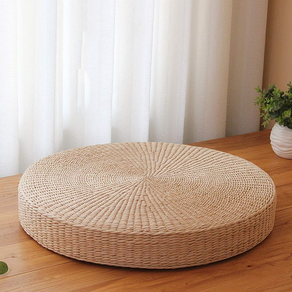 RXY-Wicker chair Japanese-Style Thick Hand-Made Futon Meditating Meditation Window Tatami Cushion (Size : 50cm) by RXY-Wicker chair (Image #1)