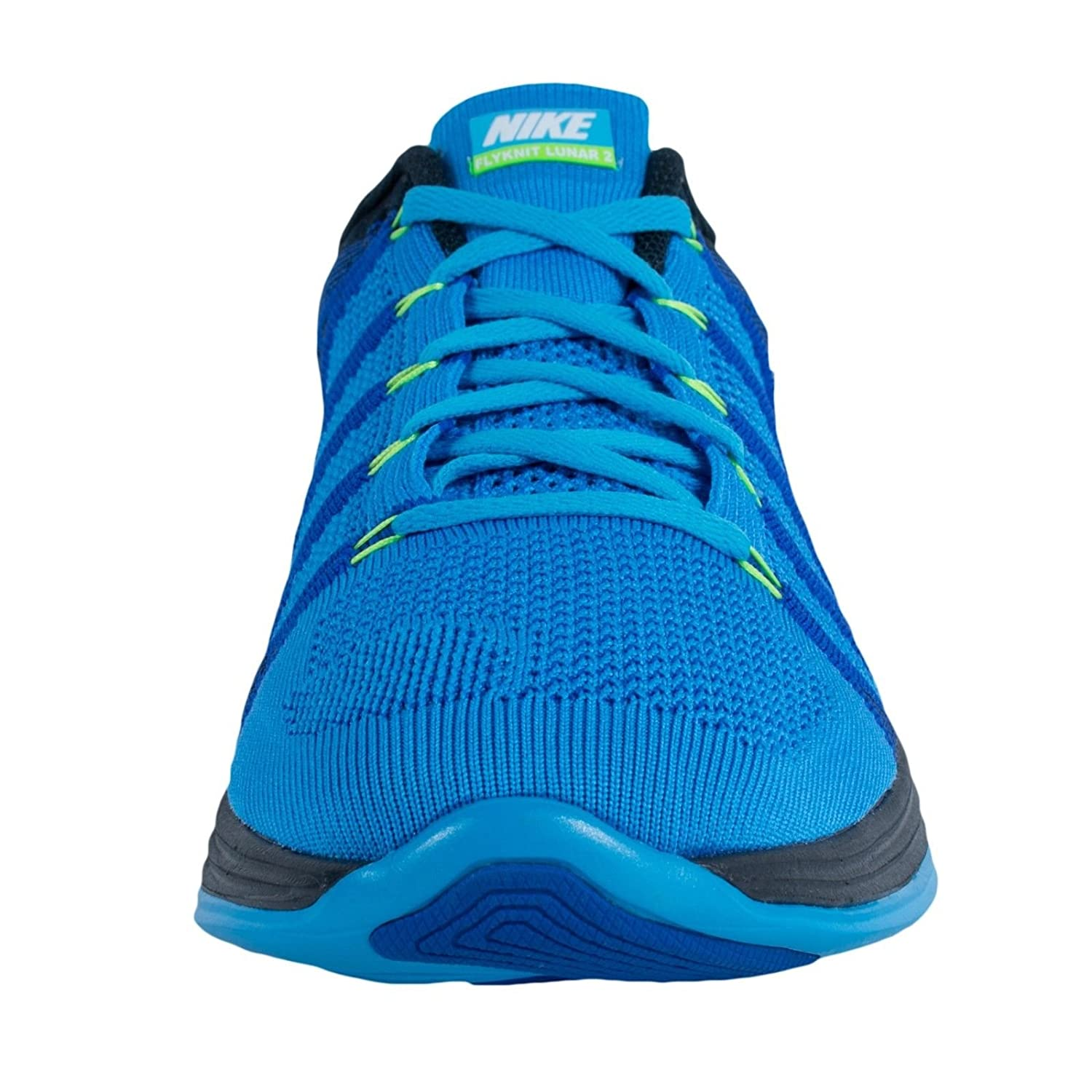 sports shoes 86dae f19a2 Nike Flyknit Lunar2 Mens Running Shoes 620465-414 Vivid Blue White-Game  Royal-Dark Obsidian 12 M US  Buy Online at Low Prices in India - Amazon.in